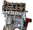 Rebuilt Toyota 2AZ FE engine for RX300